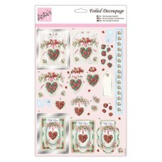 Anita's Foiled Decoupage - With Love