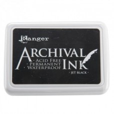 Ranger Archival Ink Pad - Jet Black
