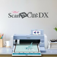 Brother SDX1200 ScanNCut DX Cutting Machine Wireless Improved Scanner