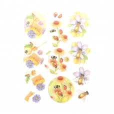 Couture Creations 3D Diecut Decoupage kit - Jeanine's Art - Buzzing Bees - Sweet Bees