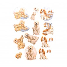 Couture Creations 3D Diecut Decoupage kit - Amy Design - Dog's Life - Dog Mommy