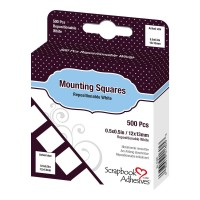 3L Adhesive - Mounting Squares - Repositionable (500pc)
