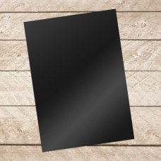 Couture Creations A4 Adhesive Vinyl 10 sheets per pack - BLACK