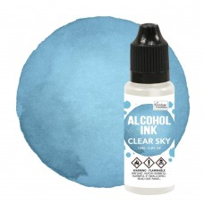 Couture Creations Alcohol Ink - Aqua / Clear Sky - 12ml