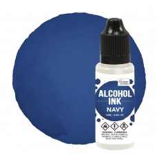 Couture Creations Alcohol Ink - Eggplant / Navy - 12ml