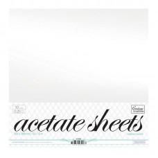 Couture Creations Acetate Sheets 12x12 (10pc)