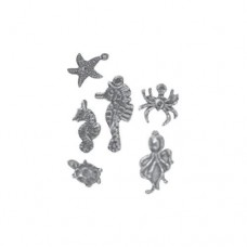 Couture Creations EMB - SM - Charms 6pc