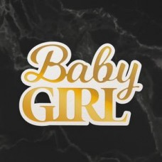 Couture Creations Dazzlia Cut Foil and Emboss Die Set - Baby Girl
