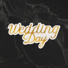 Couture Creations Dazzlia Cut Foil and Emboss Die Set - Wedding Day
