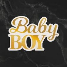 Couture Creations Dazzlia Cut Foil and Emboss Die Set - Baby Boy