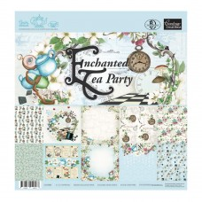 Couture Creations Paper Pad - ET - 6 x 6 - Enchanted Tea Party