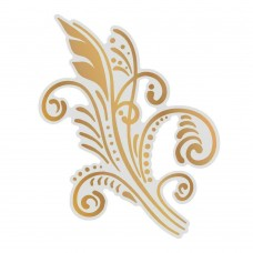 Couture Creations Gentleman's Emporium - Cut Foil & Emboss Die Art Deco Flourish 6