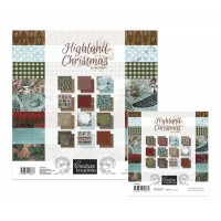 Couture Creations Highland Christmas Kit 5 - Paper Pads - 5% discount