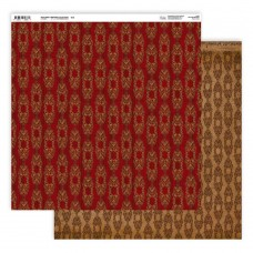 Couture Creations Highland Christmas Paper - 12 x 12 - Sheet 1 Double Sided