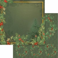 Couture Creations Naughty Or Nice Paper - 12 x 12 - Sheet 01 Double Sided