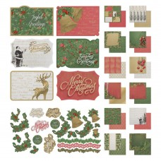 Couture Creations Naughty or Nice - Collection Pack - (12 Papers, Stickers and Postcards)