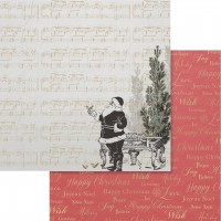 Couture Creations Naughty Or Nice Paper - 12 x 12 - Sheet 02 Double Sided
