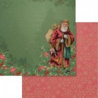 Couture Creations Naughty Or Nice Paper - 12 x 12 - Sheet 05 Double Sided