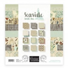 Couture Creations Paper Pad - SM - 12 x 12 - Seaside & Me