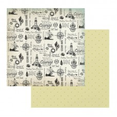 Couture Creations Sea Breeze Patterned Paper Silver Sands