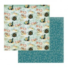 Couture Creations Sea Breeze Patterned Paper Deep Seas & Whirling Winds