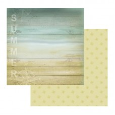 Couture Creations Sea Breeze Patterned Paper Weatherboard