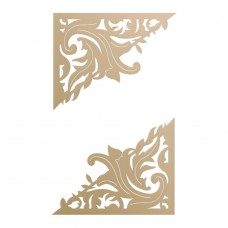Couture Creations Special Occasions - Die - Acanthus Corner Set (2pc)