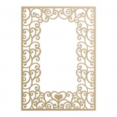 Couture Creations Special Occasions - Die - Loving Flourishes Frame (1pc)