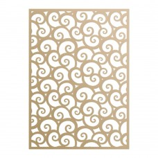 Couture Creations Special Occasions - Die - Vintage Swirling Background (1pc)