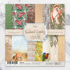 Couture Creations Sunburnt Country Paper Pad - 6 x 6""