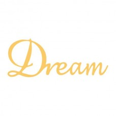 Couture Creations Die - EE - Decorative Script - Dream