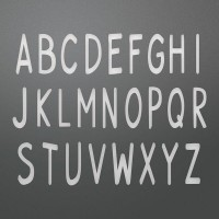 Couture Creations Die - AN - Smooth Uppercase