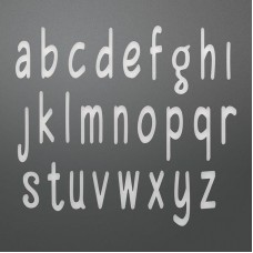 Couture Creations Die - AN - Smooth Lowercase