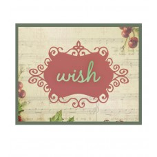 Couture Creations Die - CH - Wish 2pc
