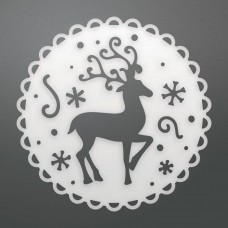 Couture Creations Die - CH - Reindeer Medallion