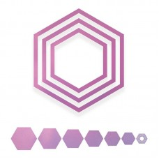 Couture Creations Die Nesting Dies - SA - Nesting Hexagons
