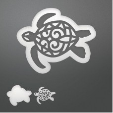 Couture Creations Die - SE - Decorative Sea Turtle