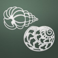 Couture Creations Die - SM - Seashells Set (2pc)