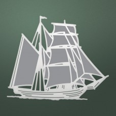 Couture Creations Die - SM - Tall Ship (1pc)