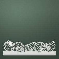 Couture Creations Die - SM - Seashells Border (1pc)