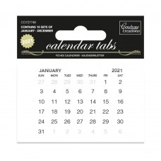 Couture Creations Calendar Tabs 2021