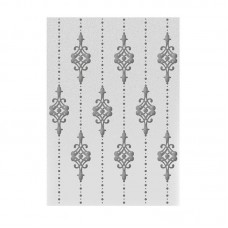 Couture Creations Emboss Folder 5x7 - HE - Lilliputana Curtain