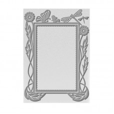 Couture Creations Emboss Folder 5x7 - HE - Hearts Ease Frame