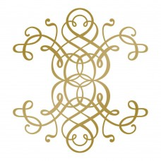 Couture Creations Hotfoil Stamp - AG - Curling Motif