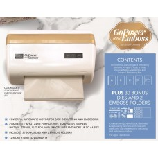 *Pre Order* Couture Creations GoPower & Emboss Machine AU - includes 30 dies & 2 embossing folders
