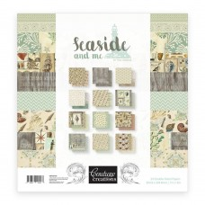 Couture Creations Paper Pad - SM - 6 x 6 -Seaside & Me