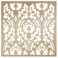Couture Creations Stencil - AG - Botanical Damask