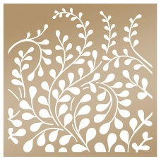 Couture Creations Stencil - AG - Creeping Vines