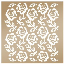 Couture Creations Stencil - AG - Rose Trellis
