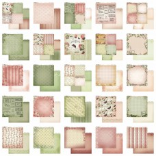 12x12 Value Pack Couture Creations Vintage Rose 125 pages RRP $162.80
